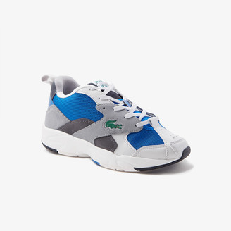 Lacoste Men's Storm 96 Textile and Suede Sneakers