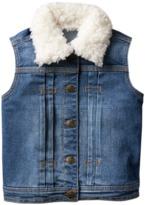 Crazy 8 Sherpa Jean Vest