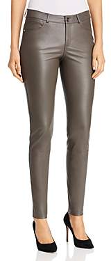 Lafayette 148 New York Mercer Skinny Leather Pants