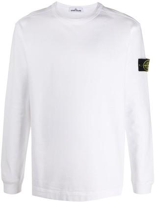 Stone Island plain cotton T-shirt