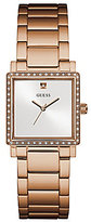 GUESS Crystal Square Bracelet Watch