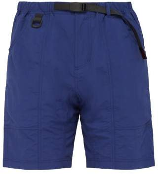 Gramicci Original Mid Rise Shell Shorts - Mens - Navy