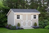 Little Cottage Company Classic Saltbox DIY Playhouse Kit, 12' x 24'