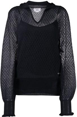 Victoria Beckham Semi-Sheer Knitted Jumper
