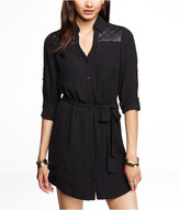 Express Quilted Yoke Portofino Dress