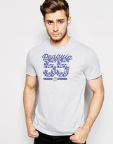 Original Penguin Number T-shirt - Grey