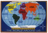 Fun Rugs Fun RugsTM Fun Time World Map Rug - 8' x 11'