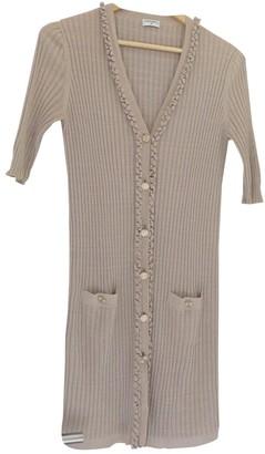 Chanel Beige Cotton Knitwear