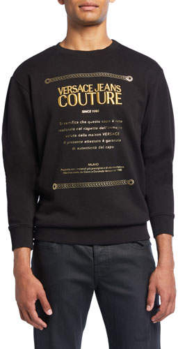 Men's Warranty Logo Graphic Pullover Sweatshirt
