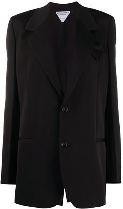 Bottega Veneta Long-Sleeve Single-Breasted Blazer