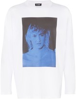 Raf Simons Laura Dern graphic T-shirt
