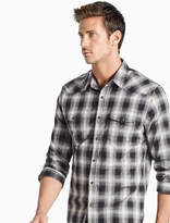 Lucky Brand Saturday Stretch Western Shirt