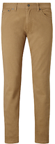 Gant Straight Soft Twill Trousers, Warm Khaki