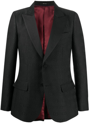 Gucci Gg Wool Smoking Jacket