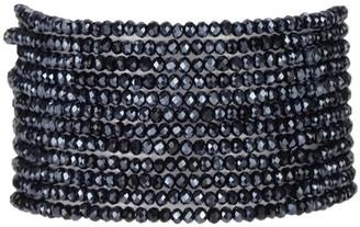 "Millianna Micro Cuff Bracelet 1""- Midnight"