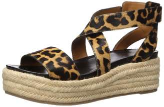 Franco Sarto Women's TABATHA2 Espadrille Wedge Sandal