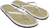 Accessorize Plain Metallic Seagrass Flip Flops