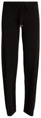 William Sharp Embellished Trousers