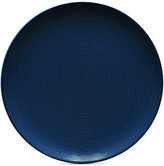 Noritake Navy-On-Navy Swirl Coupe Dinner Plate