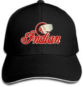 Fuerver Indian Motorcycles Symbol Value Logo Solid Colors Cap Sandwich Bill Hat