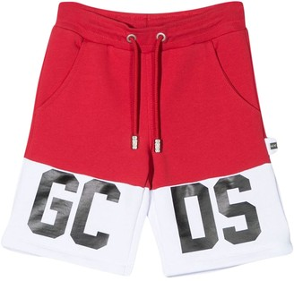 GCDS Kids Shorts With Print