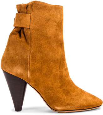 Isabel Marant Lystal Boot in Cognac | FWRD