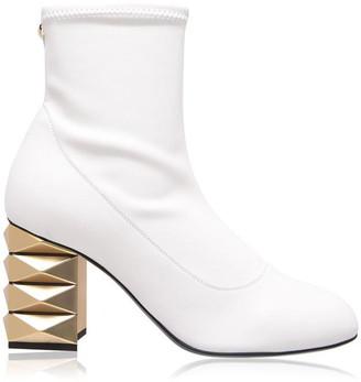 Giuseppe Zanotti Stretch Diamond Heel Boots