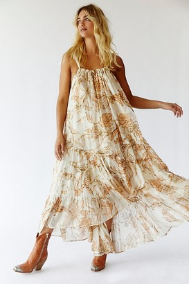 Free People Sparkly Bare It All Maxi