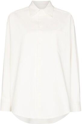 MM6 MAISON MARGIELA Oversize Button-Up Shirt