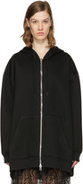 Givenchy Black Oversized Logo Hoodie