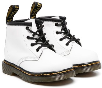 Dr. Martens Kids Lace-Up Ankle Boots
