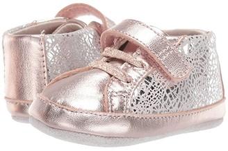 Robeez Clara First Kicks (Infant/Toddler) (Rose Gold) Girl's Shoes