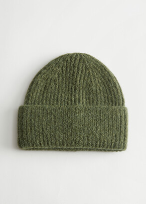 And other stories Ribbed Knit Beanie Hat