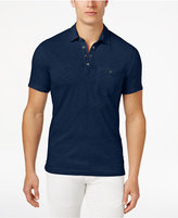 INC International Concepts Men's Snap Cotton Polo, Created for Macy's