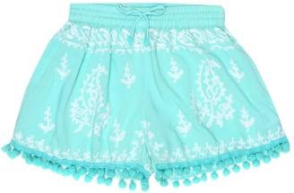Melissa Odabash Kids Baby Sienna embroidered shorts