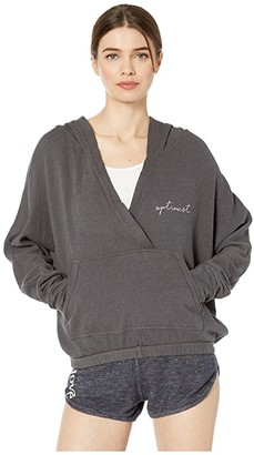good hYOUman Remi Optimist Hoodie (Carbon) Women's Clothing