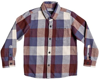 Quiksilver Motherfly Flannel Shirt (Toddler & Little Boys)