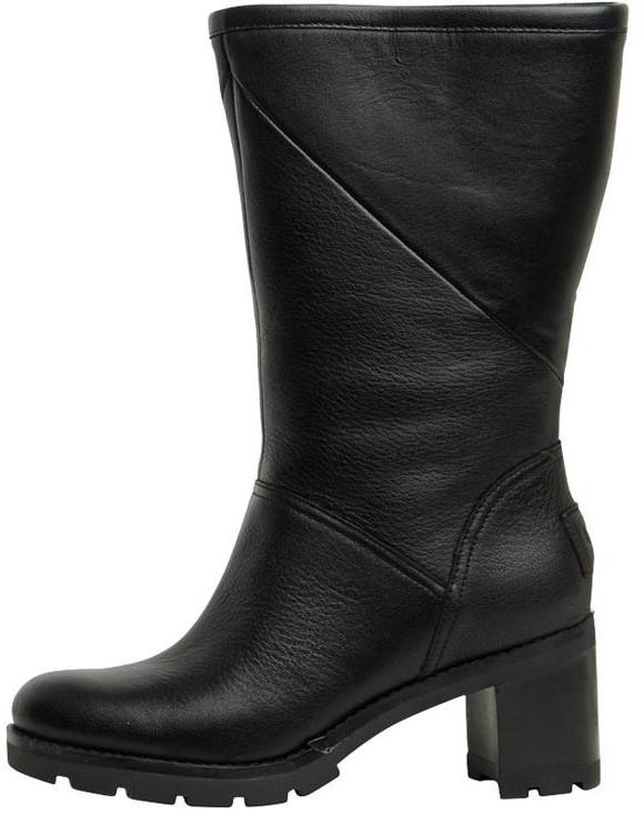 8f727e39c08 Womens Jessia Heeled Boots Black