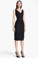 Nina Ricci Silk & Wool Crepe Dress