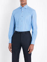 Corneliani Regular-fit cotton chambray shirt
