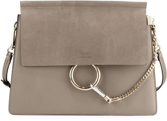 Chloé Faye Medium Flap Shoulder Bag