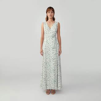 Fame & Partners V-Neck Wrap Dress
