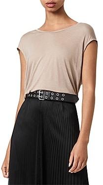 AllSaints Meya Pleated Skirt