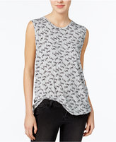 Rachel Roy Love Graphic Tank Top, Only at Macy's