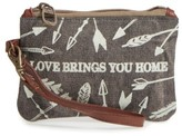 Women's Primitives By Kathy Life Takes You To Unexpected Places Coin Purse - Grey