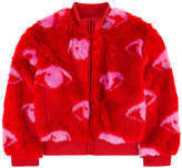 Kenzo False fur bomber jacket