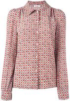 Sonia Rykiel 'Portraits' printed shirt - women - Silk - 36