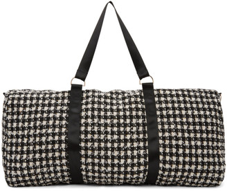 Landlord Black and White Big Duffle Bag