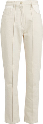 Dion Lee Signature High-Waist Ankle Jeans