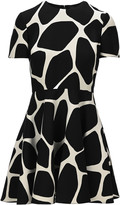 Valentino Giraffe Print Dress
